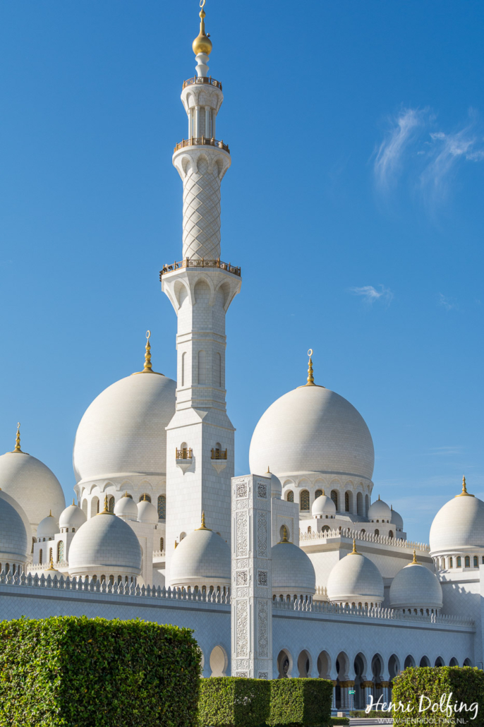 Abu Dhabi Sjeik Zayed Grand Mosque