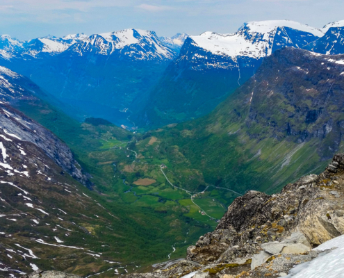 norway dalsnibba geirangerfjord